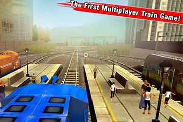 Game play Train Racing Games 3D 2 Player