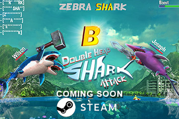 Double Head Shark Attack – MULTIPLAYER is on STEAM Now