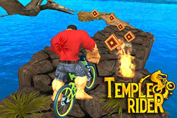 Did you ever dreamt of riding around ancient temples & collecting treasures ???