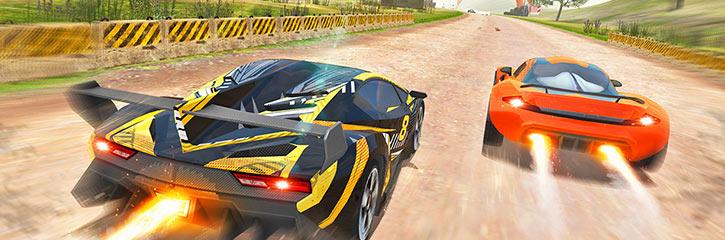 Racing Racer 3D Game Play