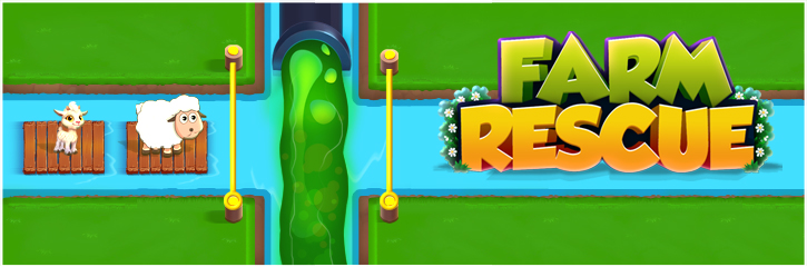 Farm Rescue – Pull the pin Features: